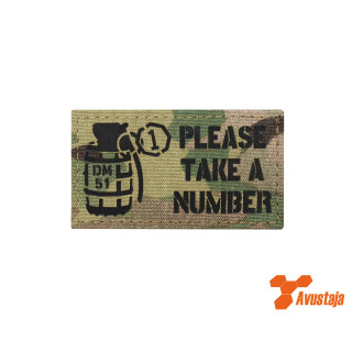 Please take a number Patch